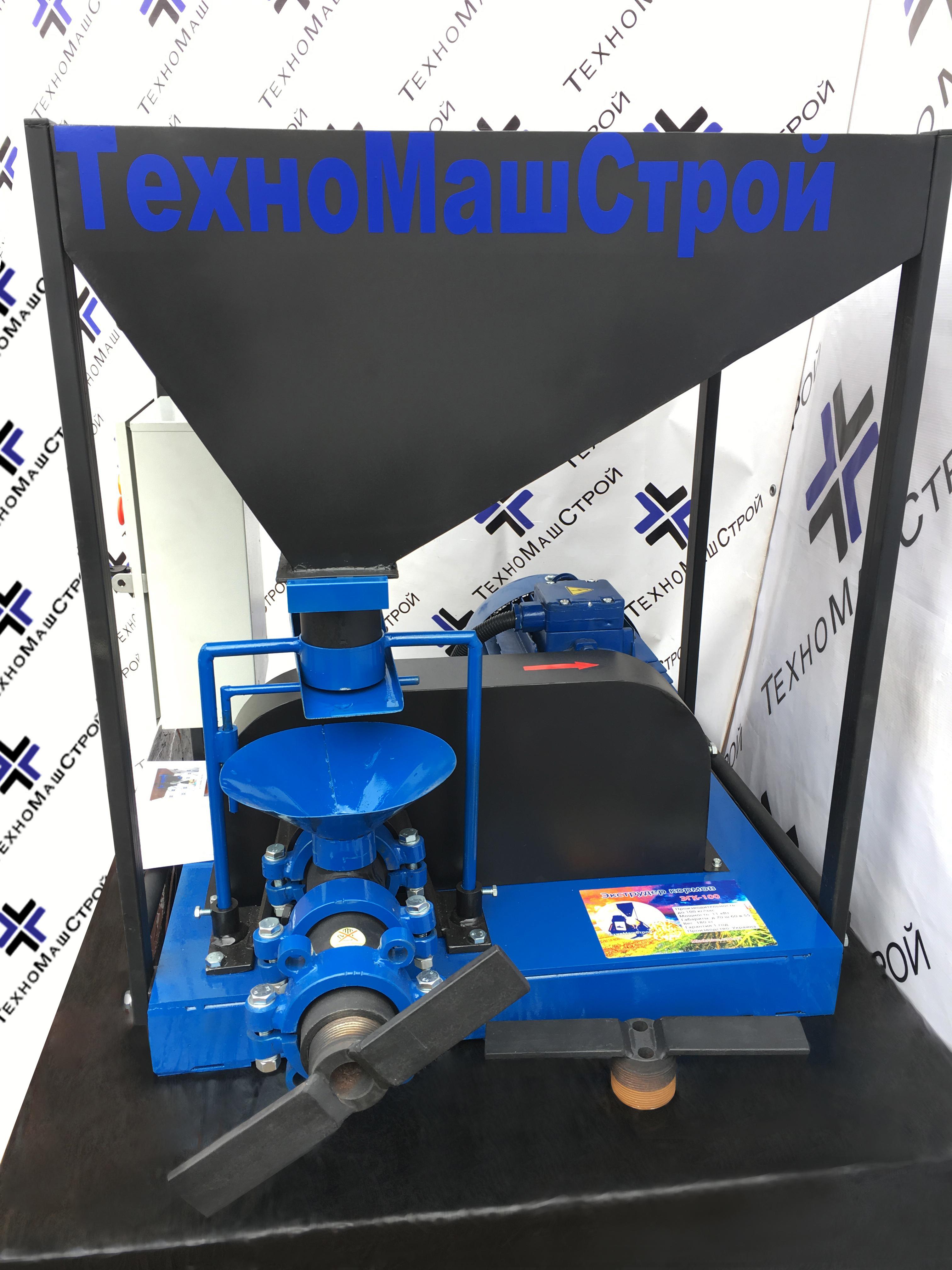 Экструдер зерновой ЭГК-100 фото