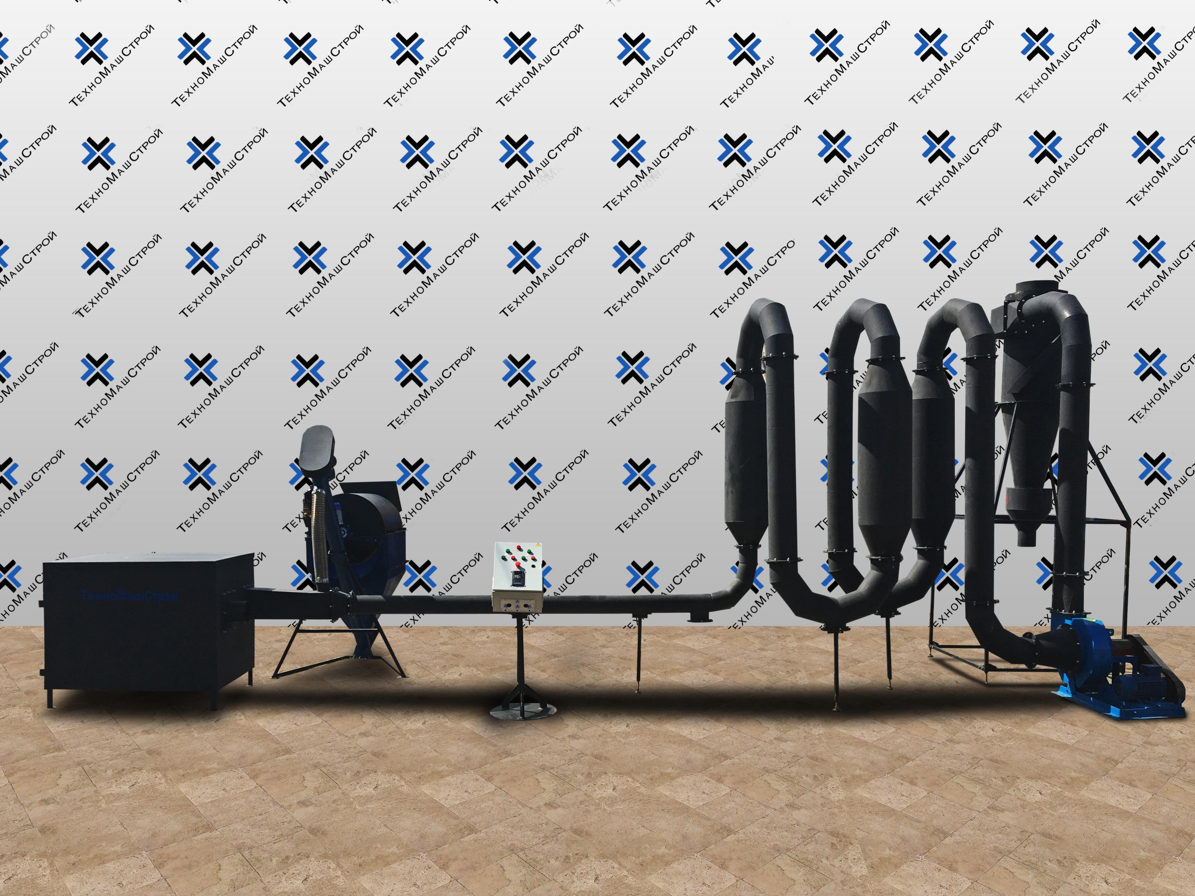 Аэродинамическая сушилка опилок и тырсы фото