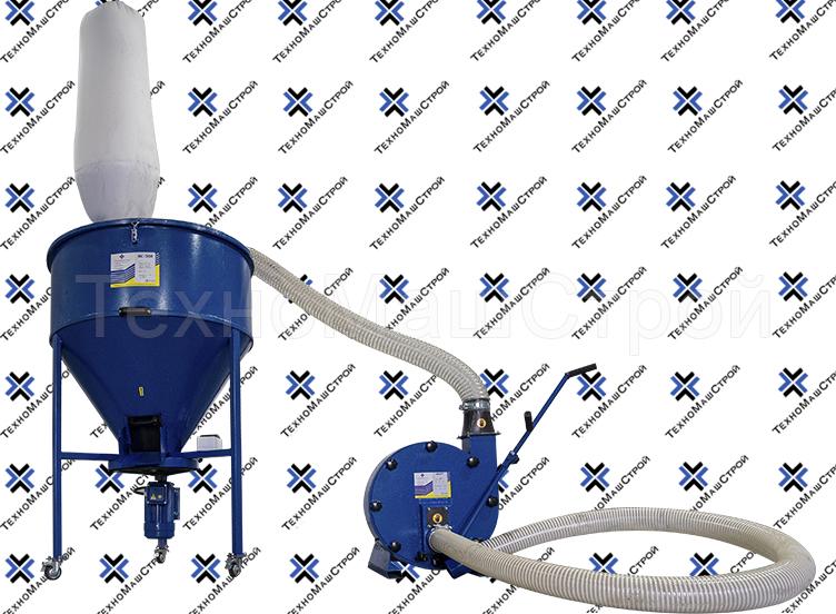 Кормосмеситель КС-300 + зернодробилка KRAFT-4